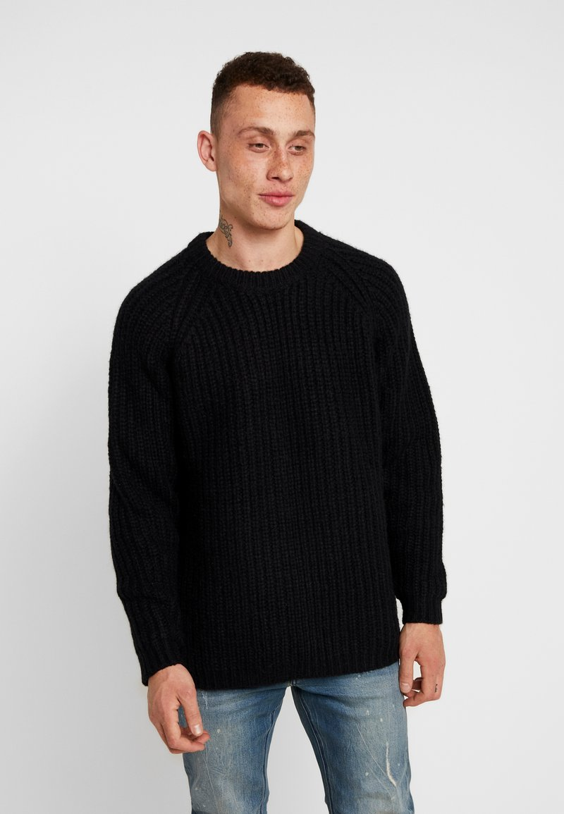 Tigha - BALTHAZAR - Strikpullover /Striktrøjer - black