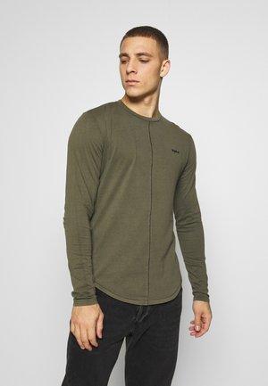 ELIANO - Long sleeved top - oily green