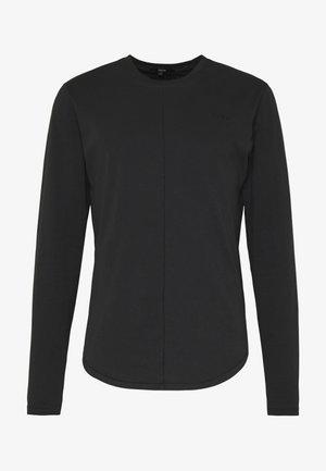 ELIANO - T-shirt à manches longues - black