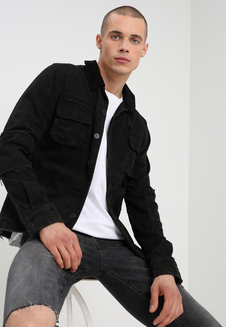 Tigha - NATAN - Jeansjacke - bleached black