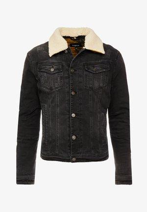 HAKON - Giacca di jeans - vintage black