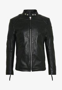 Tigha - ESTEBAN - Veste en cuir - black - 4