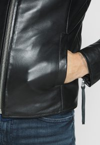 Tigha - ESTEBAN - Veste en cuir - black - 3