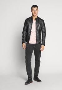 Tigha - SAMI - Leather jacket - black - 1