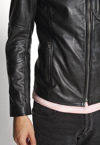 Tigha - SAMI - Leather jacket - black - 3