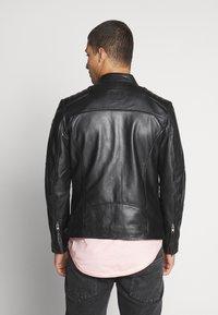 Tigha - SAMI - Leather jacket - black - 2