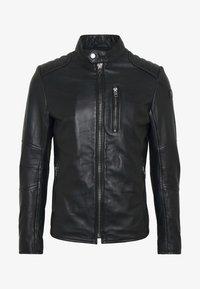 Tigha - SAMI - Leather jacket - black - 4