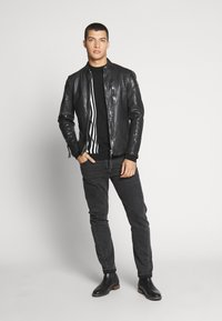 Tigha - WESNEY - Leather jacket - black - 1