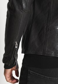 Tigha - WESNEY - Leather jacket - black - 5
