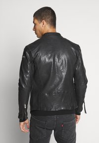 Tigha - WESNEY - Leather jacket - black - 2