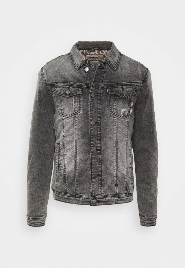 LEEROY - Kurtka jeansowa - vintage black