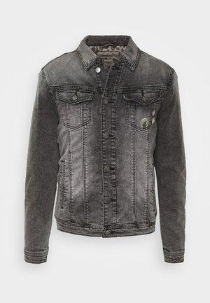 LEEROY - Denim jacket - vintage black