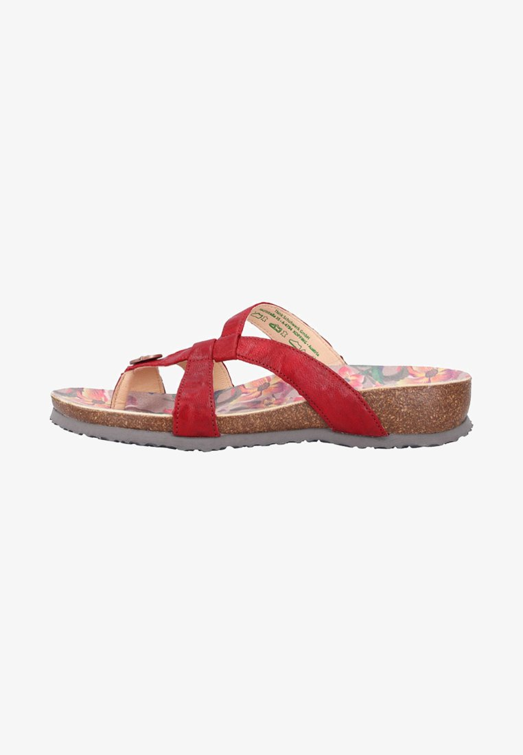 Think! - Pantolette flach - red