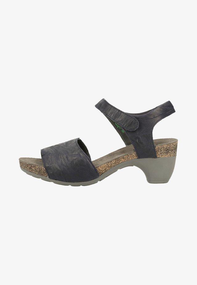 Platform sandals - ocean