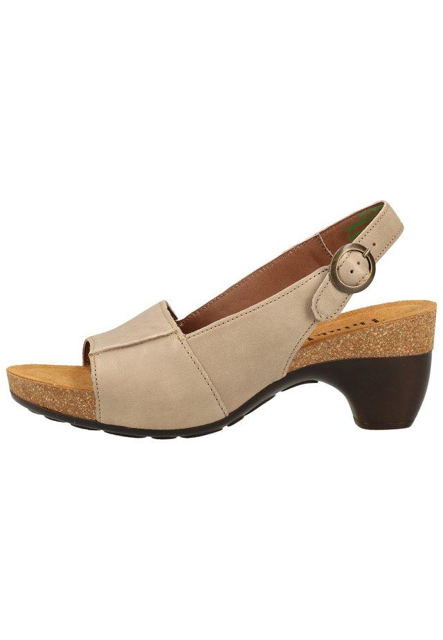 THINK! SANDALEN - Platform sandals - pallisandro 26