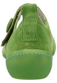 Think! - Ballerinasko m/ rem - green - 3