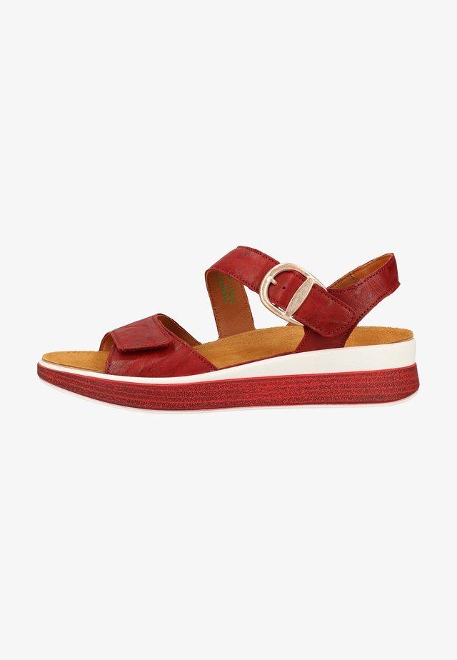 Sandals - cherry