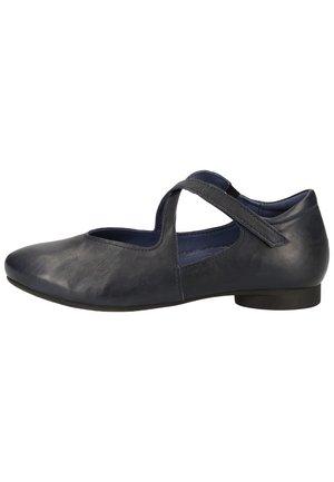 THINK! BALLERINAS - Ballerinasko m/ rem - navy 87