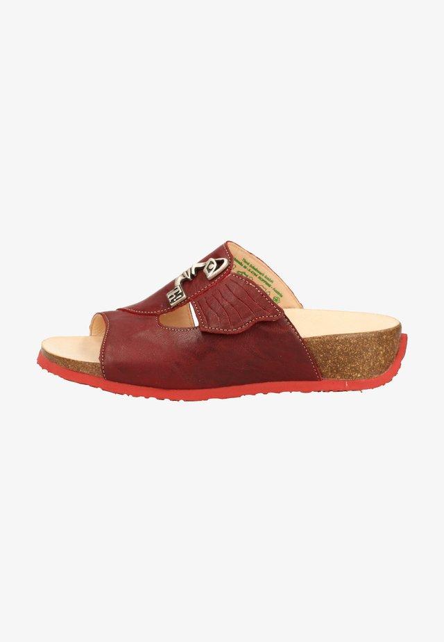Sandaler - rosso/kombi