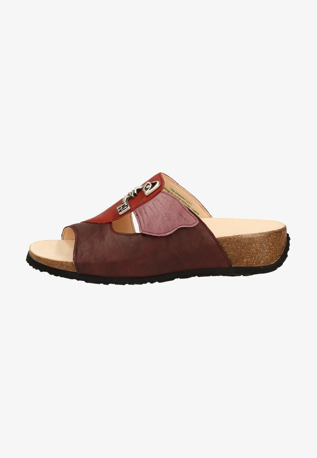 Sandaler - chianti/kombi 5000