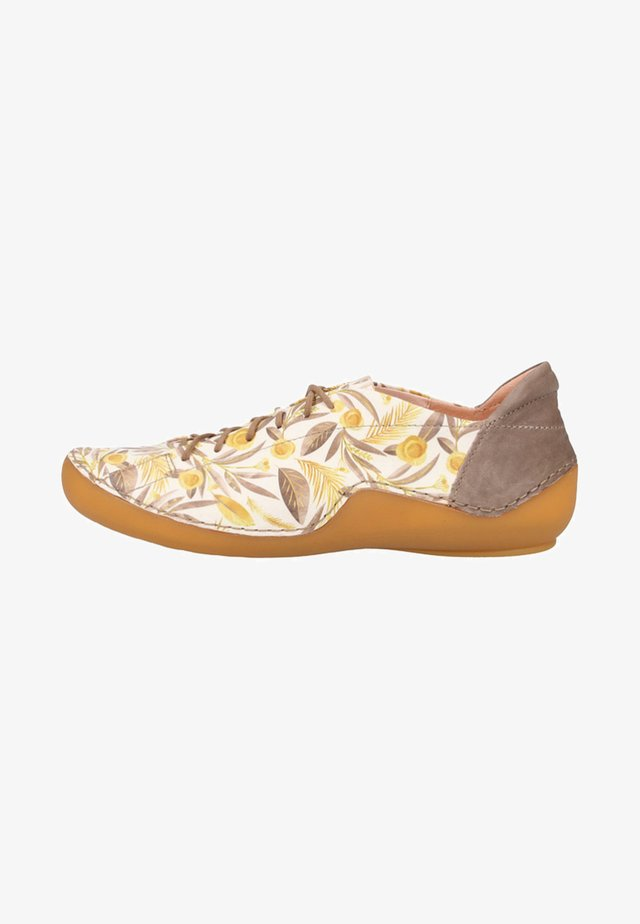Chaussures à lacets - olive