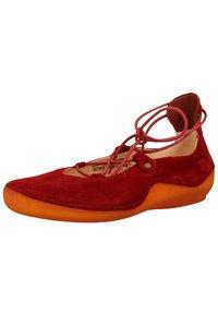 Think! - Ballerinasko m/ skaft - red - 2