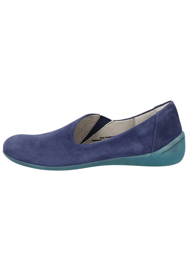 THINK! SLIPPER - Loafers - indigo 89