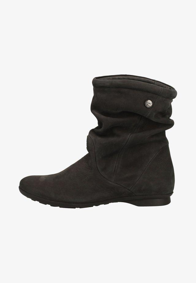 Støvletter - schwarz 0000