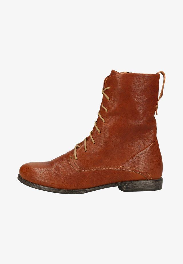 Ankle boots - cognac 3010