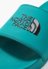 The North Face - BASE CAMP SLIDE II - Sandaler - verdial/black - 5