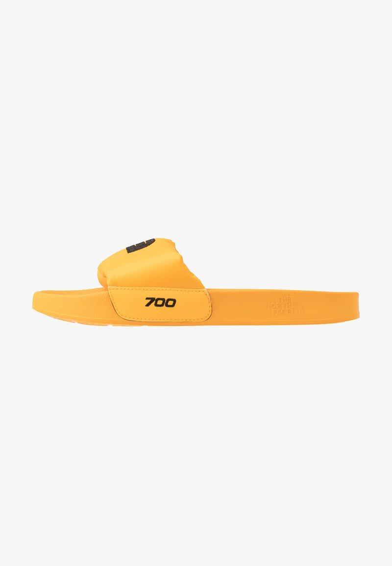 The North Face - MEN'S NUPTSE SLIDE - Mules - yellow/black