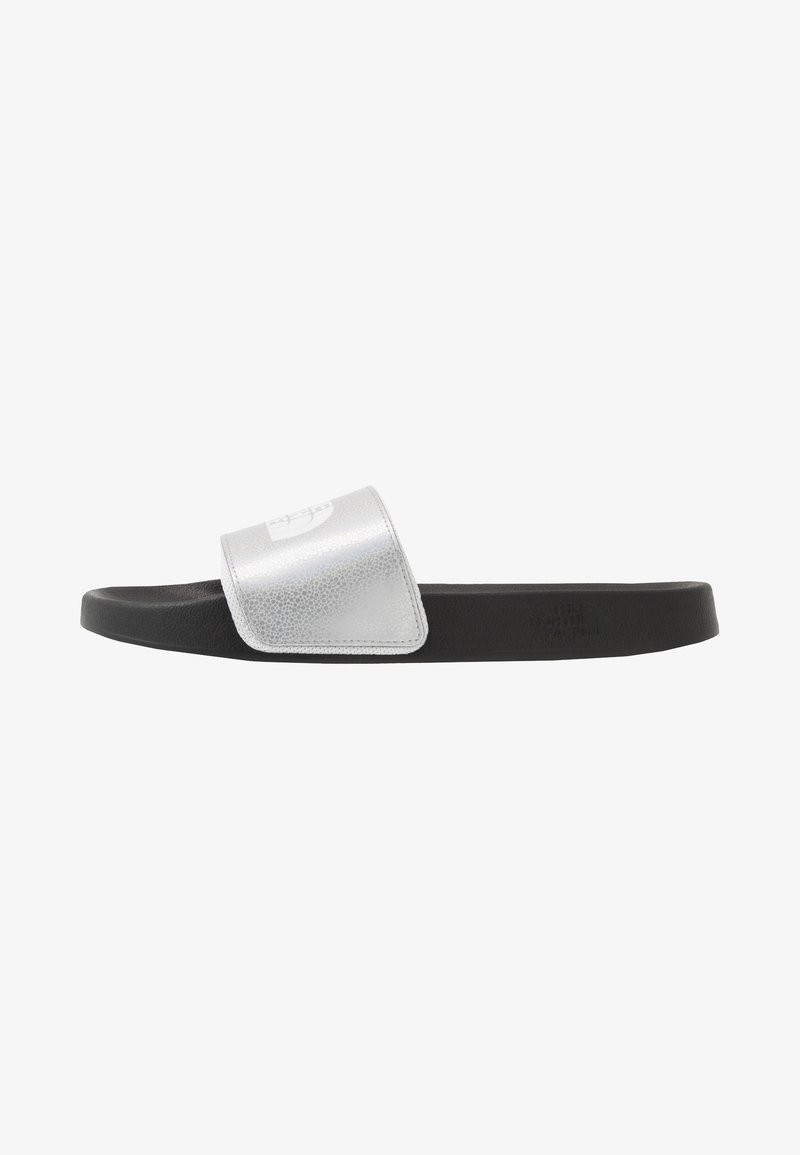 The North Face - BASE CAMP SLIDE II SPACE - Pantofle - metallic silver/white