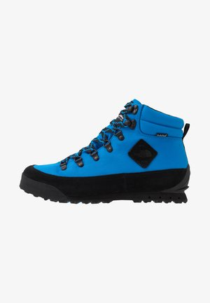 Šněrovací kotníkové boty - blue/black