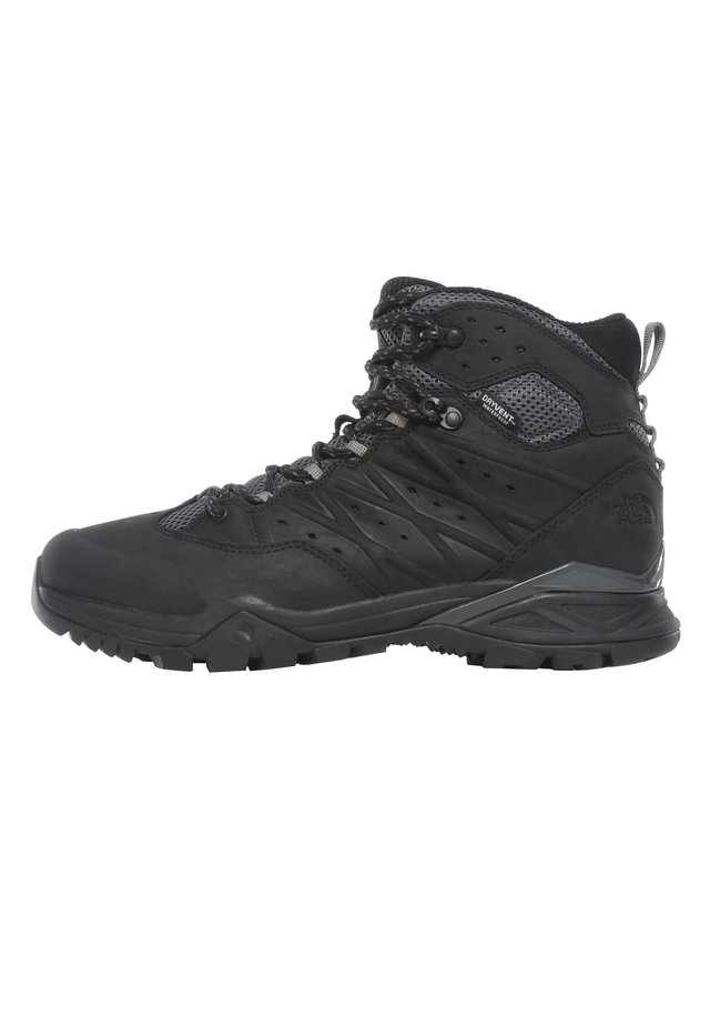 HEDGEHOG HIKE MID  - Lace-up ankle boots - tnf black/graphite grey