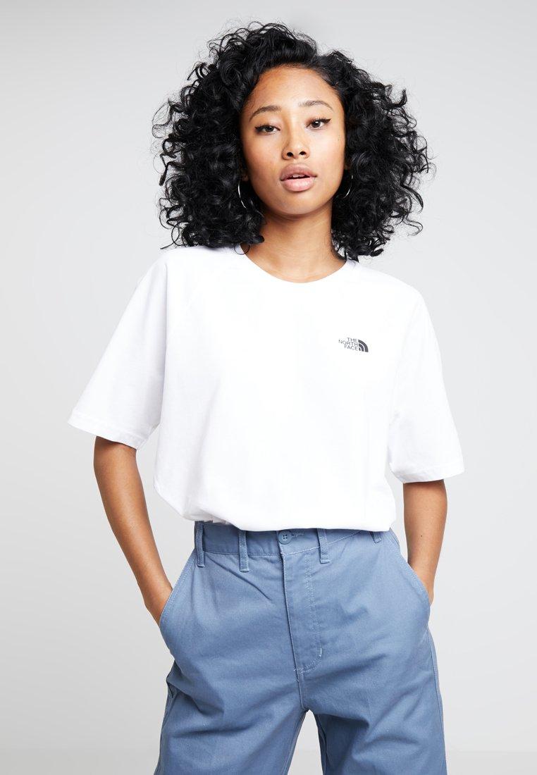 The North Face RAGLAN TEE - T-shirts - white