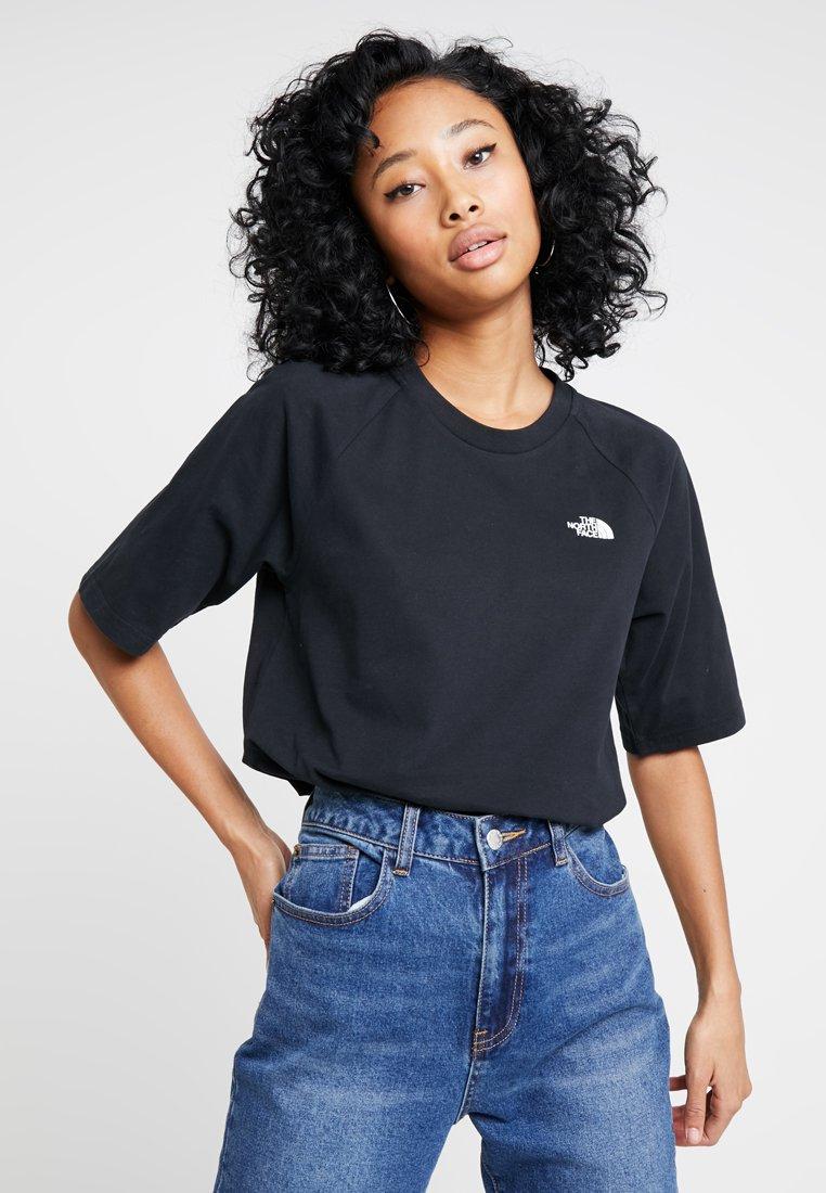 The North Face - RAGLAN TEE - T-shirt basic - black