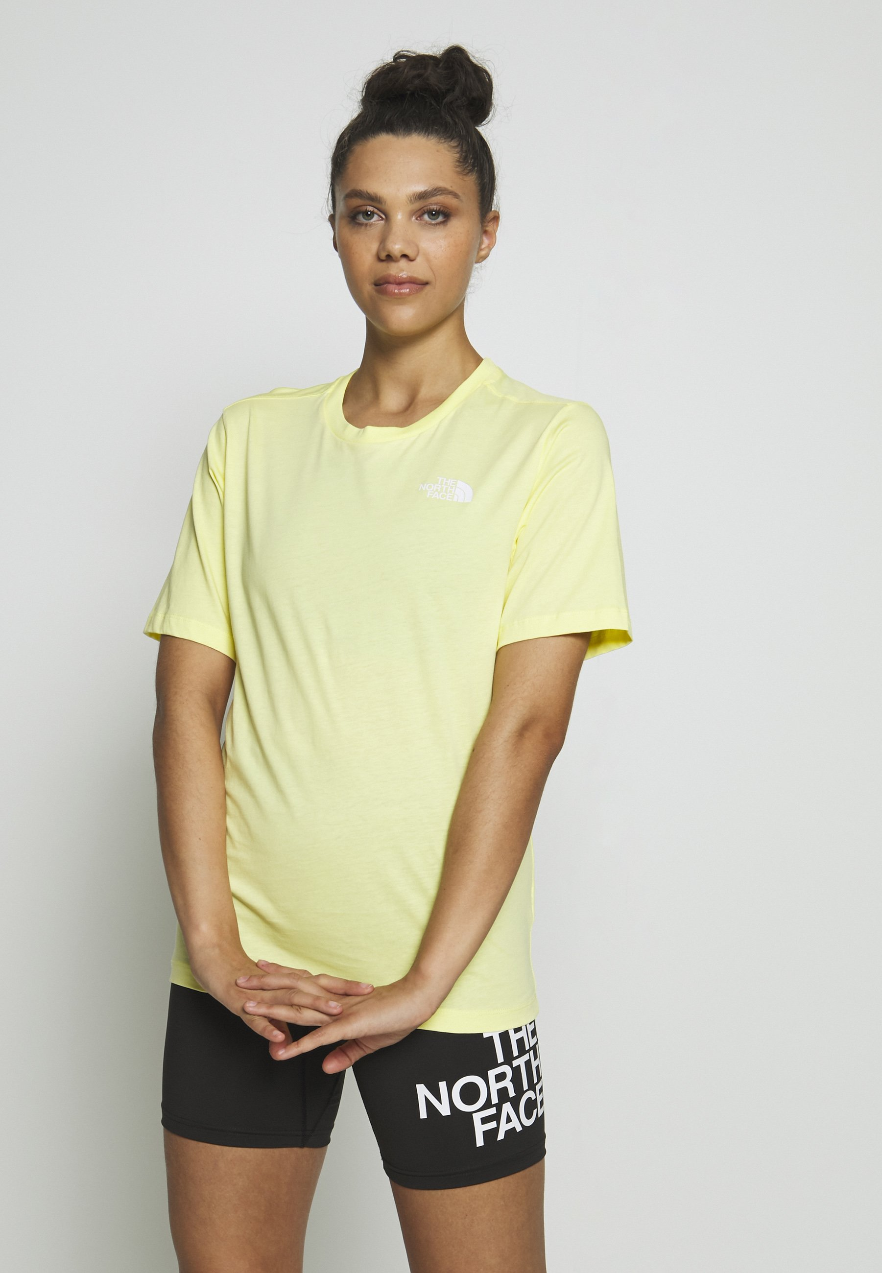 The North Face SIMPLE DOME - T-shirts - stinger yellow