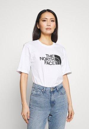 EASY - T-shirts med print - white