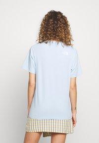 The North Face - ZUMU TEE - T-Shirt basic - blue - 2