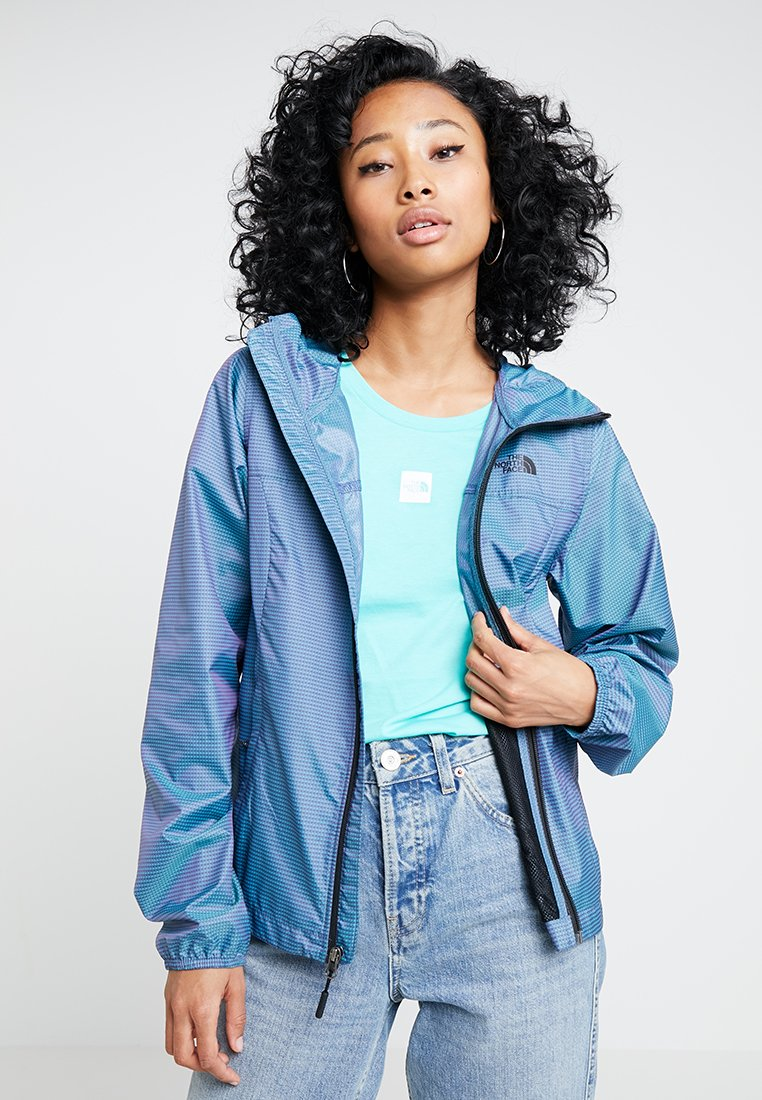 The North Face - PRINT CYCLONE - Summer jacket - blue