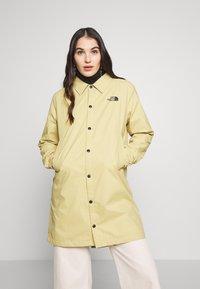 The North Face - TELEGRAPHIC COACHES JACKET - Short coat - hemp - 0