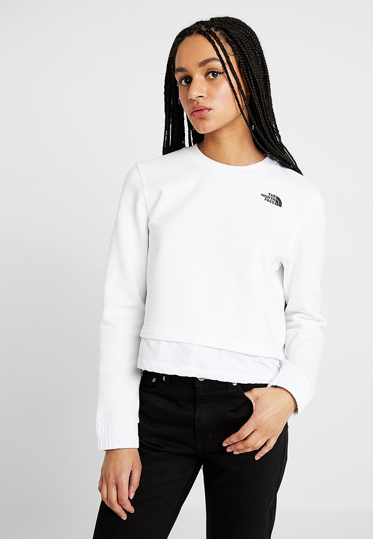 The North Face - RAGECROPPED CREW - Sweatshirt - white