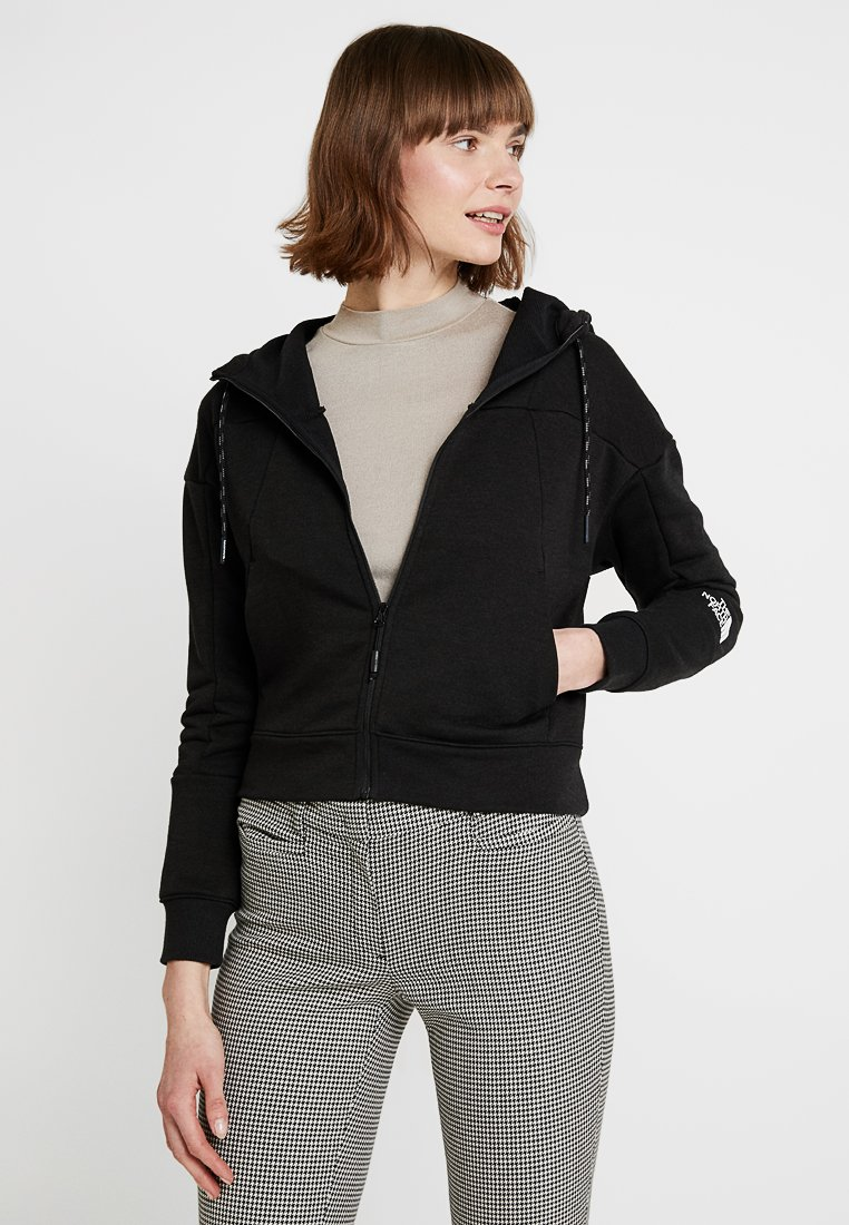 The North Face - Zip-up hoodie - black