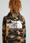 The North Face - GRAPHIC - Mikina skapucí - dark green