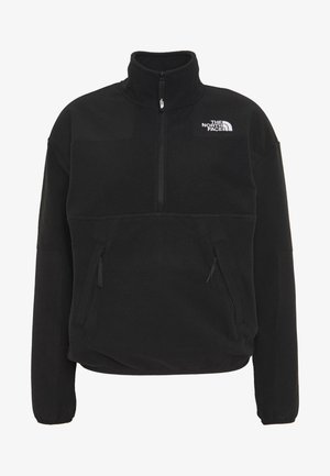 Fleecepullover - black