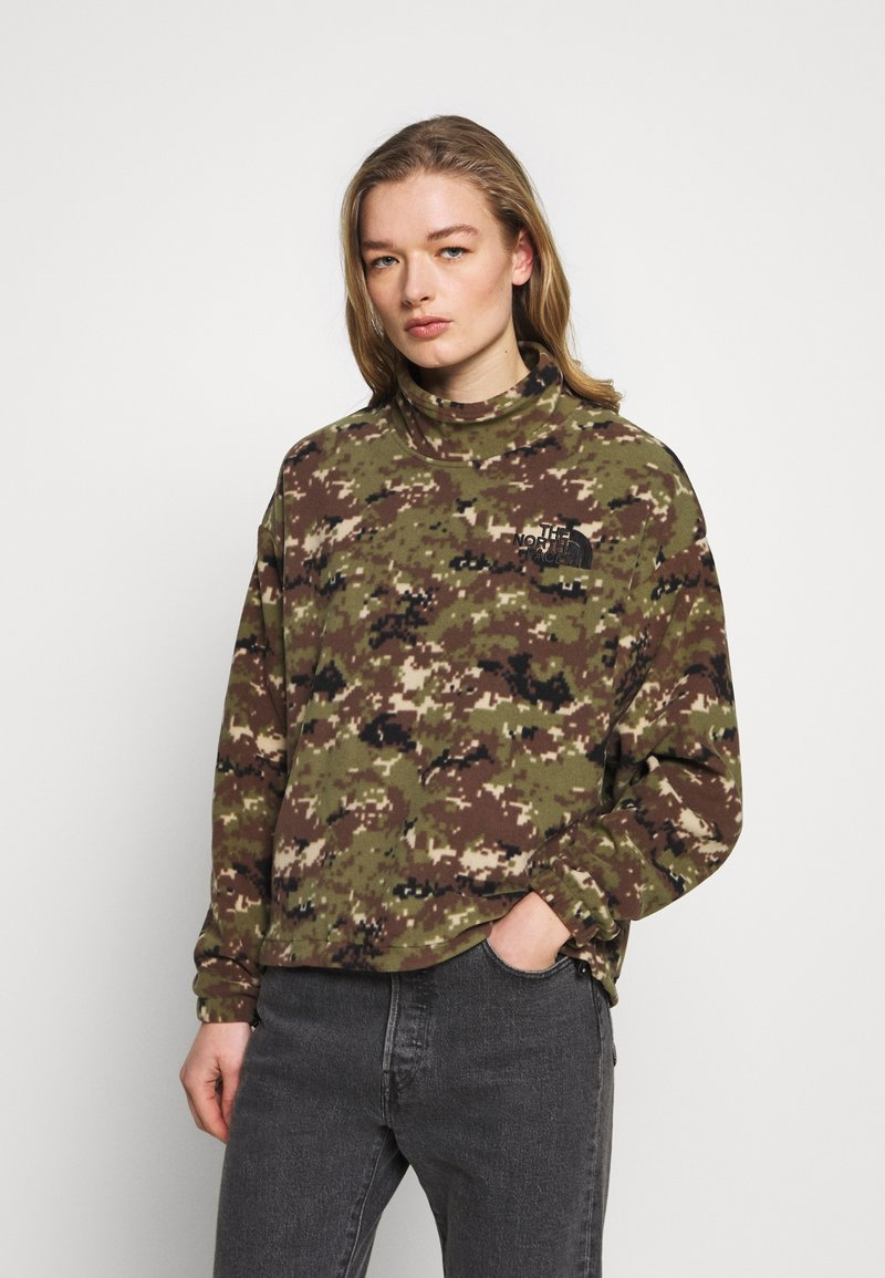 The North Face - POLAR - Fleece jumper - burnt olive green