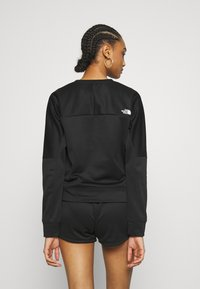 The North Face - TRAIN LOGO CROP - Sweatshirt - black - 2