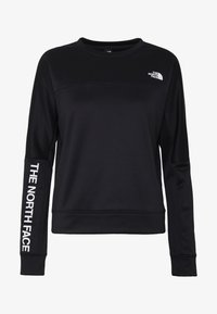 The North Face - TRAIN LOGO CROP - Sweatshirt - black - 4