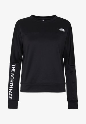 TRAIN LOGO CROP - Sweatshirt - black