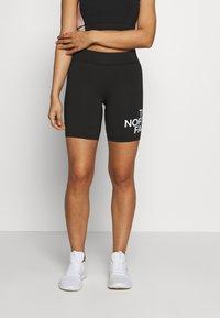 The North Face - KABE SHORT - Shorts - black - 0